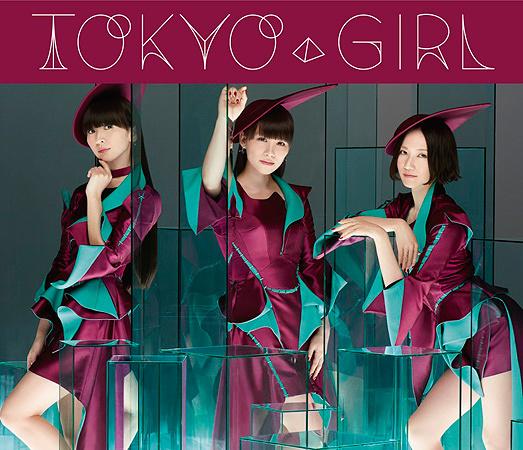 Perfume『TOKYO GIRL』初回限定盤ジャケット