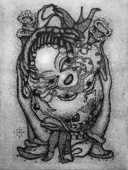 ピエール・モリニエ『小さな嘴―卵の愛』
