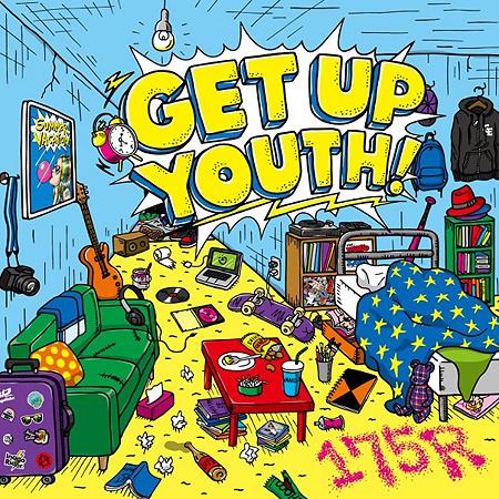 175R『GET UP YOUTH!』ジャケット