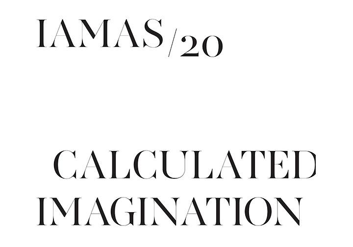 『Calculated Imagination IAMASが発信するメディアアート展』メインビジュアル