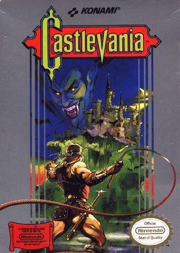 ゲーム『Castlevania』ジャケット