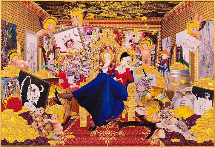 飯島モトハル コレクション展『綺麗なドレス』メインビジュアル