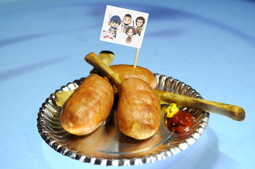 『ドラマ24 勇者ヨシヒコとジョイポリス城』モンスターの肉 ©「勇者ヨシヒコと導かれし七人」製作委員会