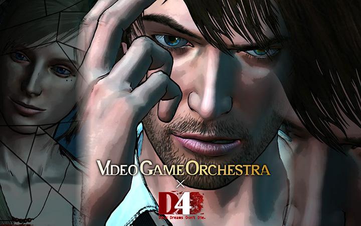 VIDEO GAME ORCHESTRA×『D4: DARK DREAMS DON'T DIE』ビジュアル