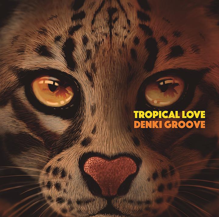 電気グルーヴ『TROPICAL LOVE』ジャケット
