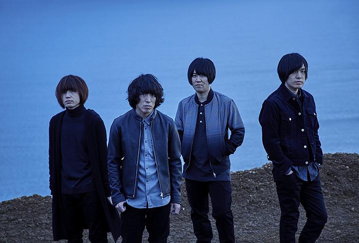 KANA-BOON(左端が飯田祐馬)