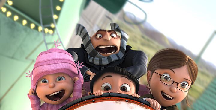 『怪盗グルーの月泥棒 3D』 ©2009 Universal Studios. All Rights Reserved.