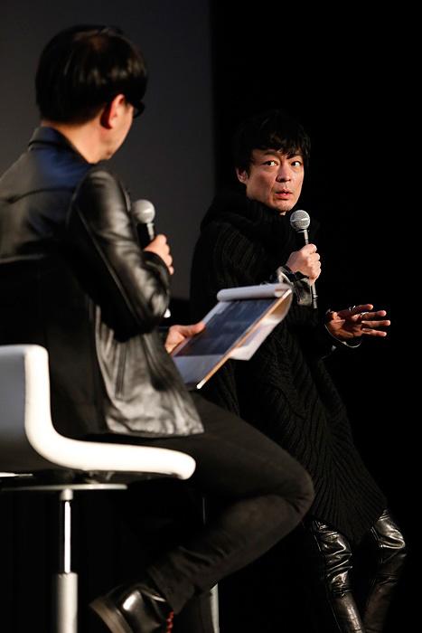 中野雅之(BOOM BOOM SATELLITES) 2017年2月28日に東京・新宿バルト9で開催された『19972016 LIVE AND DOCUMENT』上映会内で行なわれたトークセッションより