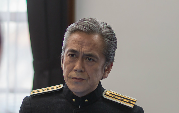 札幌刑務所長・仁科久役の寺島進 ©テレビ東京