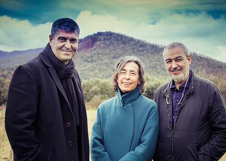 Rafael Aranda, Carme Pigem and Ramon Vilalta ,Photo by Javier Lorenzo Domínguez