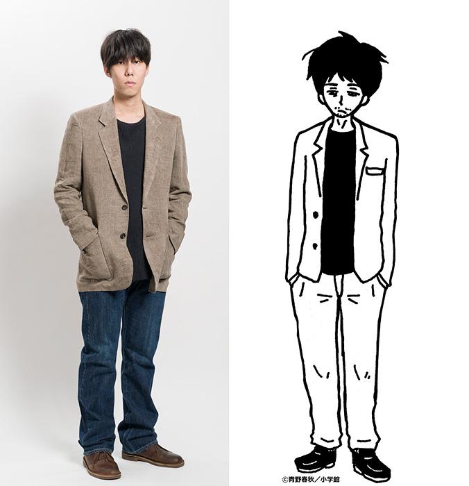 道間慎役の野田洋次郎