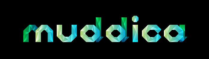 「muddica」ロゴ