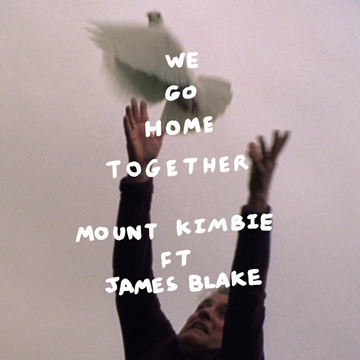 Mount Kimbie『We Go Home Together (feat. James Blake)』ジャケット