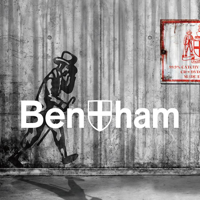 Bentham『激しい雨 / ファンファーレ』初回限定盤ジャケット
