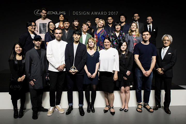 『LEXUS DESIGN AWARD 2017』授賞式より