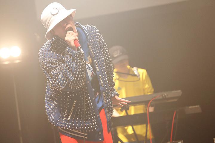 どついたるねん 4月6日に赤坂坂BLITZで開催された『どついたるねん JAPAN TOUR 2017「彦龍」』ツアーファイナルより photo by 中島たくみ、のうだちなみ