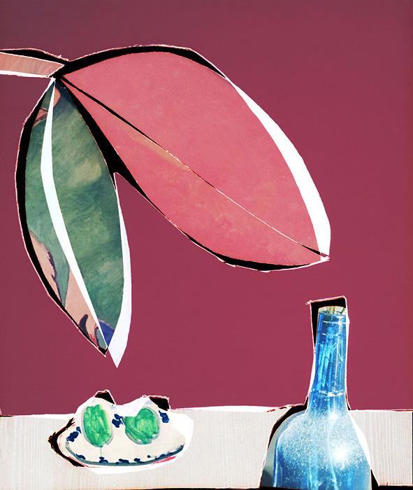 イナ・ジャン『a blue bottle in a red room』2017 archival pigment print ©Ina Jang, Courtesy of G/P gallery, Tokyo