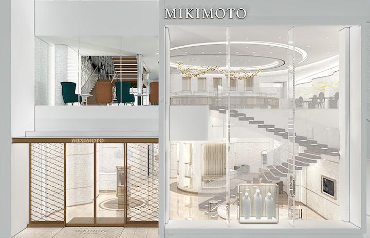 「ミキモト銀座4丁目本店」内観イメージビジュアル