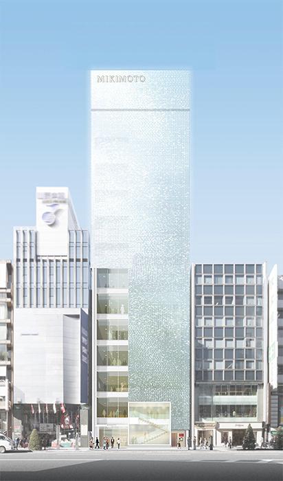 「ミキモト銀座4丁目本店」外観イメージビジュアル