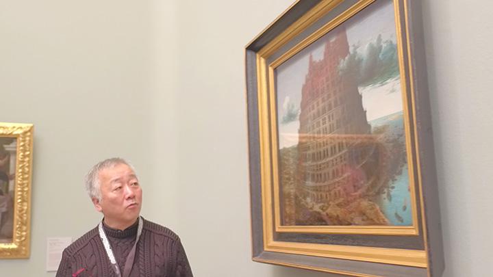 2016年11月28日にボイマンス・ファン・ベーニンゲン美術館を訪れた大友克洋