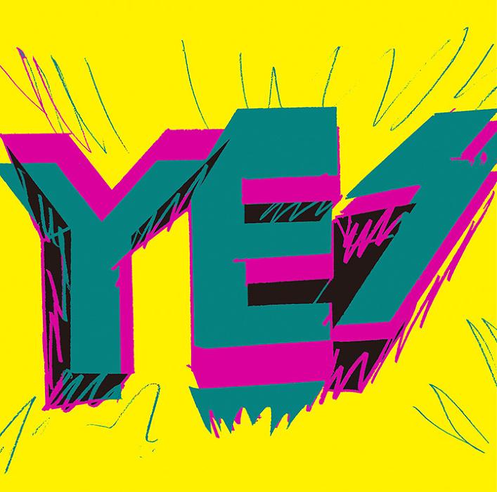 サンボマスター『YES』ジャケット