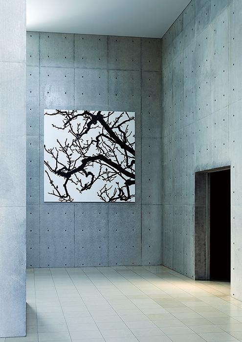 日高理恵子『空との距離XIII』ドローイング 2017年 ©Rieko Hidaka
