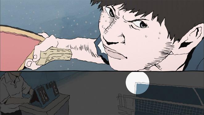 『ピンポン THE ANIMATION』 ©松本大洋/小学館 ©松本大洋・小学館/アニメ「ピンポン」製作委員会