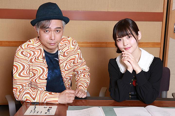 左から大槻ケンヂ、上坂すみれ ©東北新社