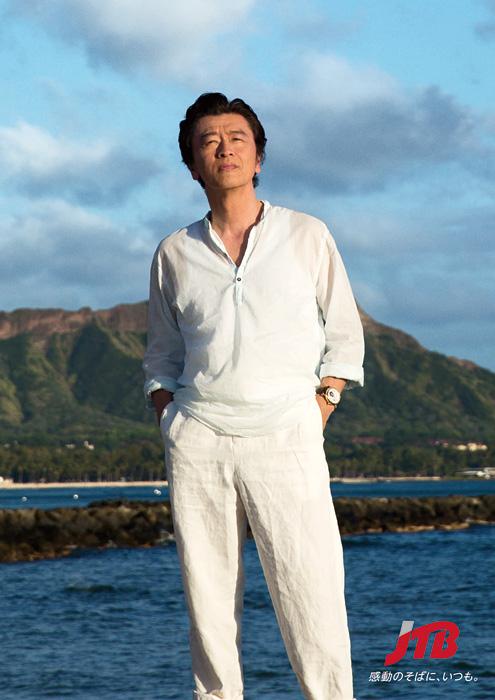 テレビCM JTB×桑田佳祐 「オアフ島」篇、「ハワイ島」篇ビジュアル