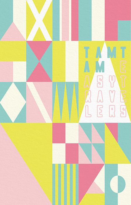 TAMTAM『EASYTRAVELERS mixtape』ジャケット