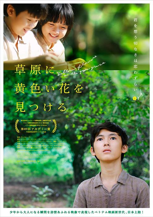 『草原に黄色い花を見つける』 ©2015 Galaxy Media and Entertainment. All rights reserved.