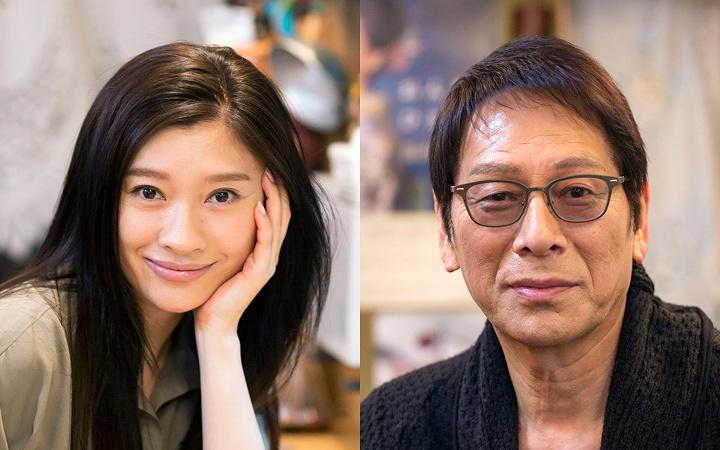 左から篠原涼子、大杉漣 ©テレビ東京