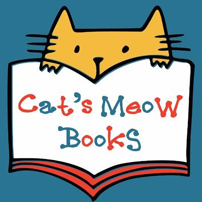 「Cat's Meow Books」ロゴ