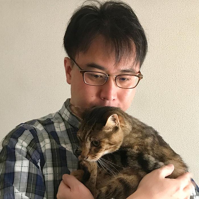 安村正也と猫