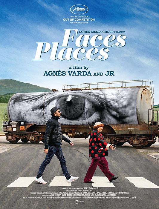 『Visages Villages(原題)』海外版ポスタービジュアル