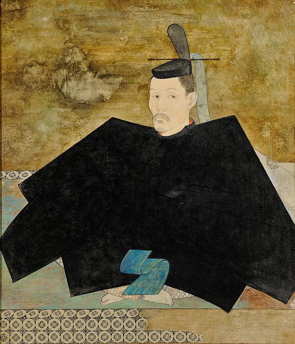 山口晃『自画像』平成6年(1994)通期展示 東京藝術大学蔵