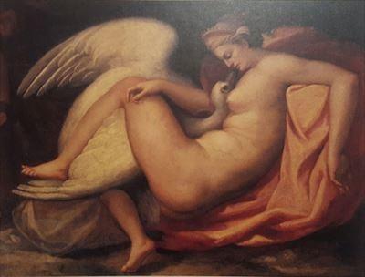 フランチェスコ・ブリーナ(帰属)『レダと白鳥(失われたミケ ランジェロ作品に基づく)』 1575年頃 カーサ・ブオナローティ ©Associazione Culturale Metamorfosi and Fondazione Casa Buonarroti