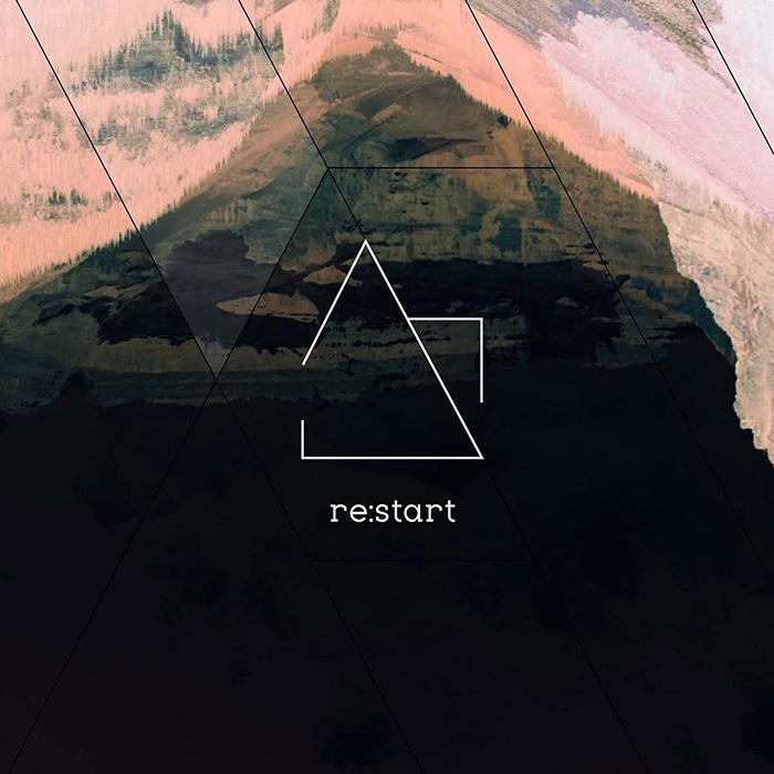 mutesite『re:start』ジャケット