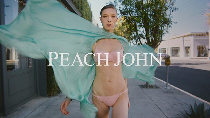 えぐちりか 下着ブランド「ピーチ・ジョン」のCM「春風のいたずら」