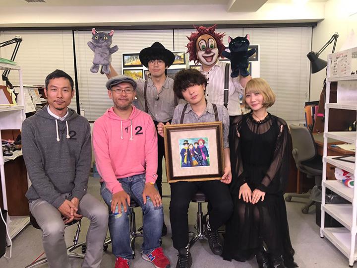 SEKAI NO OWARIと米林宏昌監督、西村義明プロデューサー