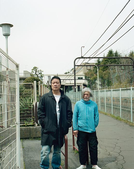 『を待ちながら』メインビジュアル 撮影:ホンマタカシ