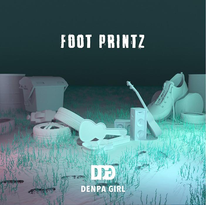 電波少女『FOOT PRINTZ』ジャケット