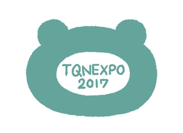 『たぬきゅんエキスポ2017』ロゴ