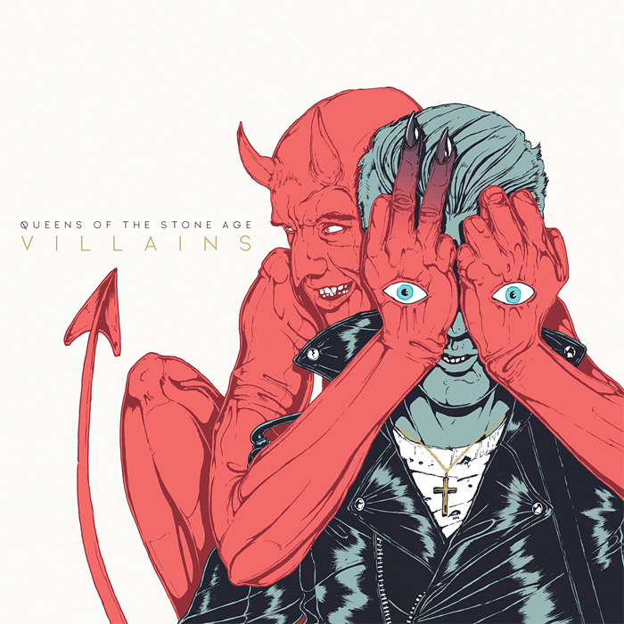 Queens of the Stone Age『Villains』ジャケット