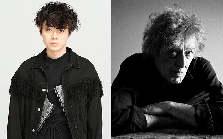 左から菅田将暉、トム・ストッパード