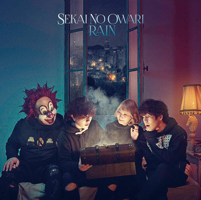 SEKAI NO OWARI『RAIN』初回限定盤Bジャケット