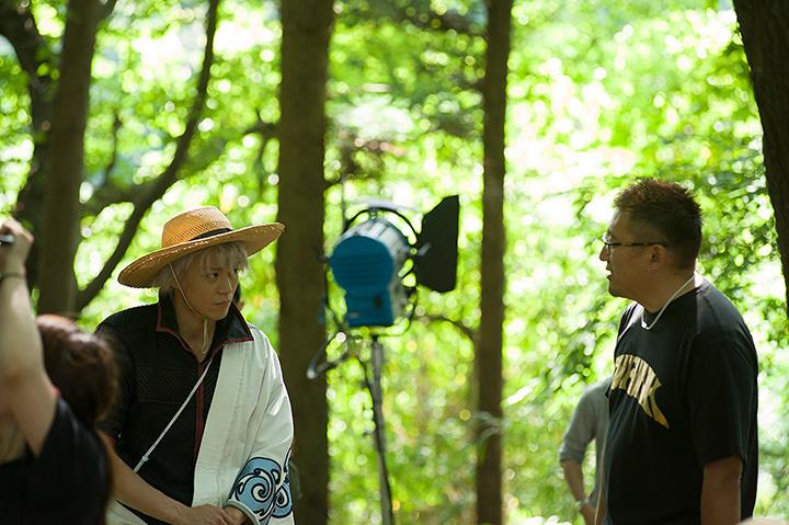 『銀魂』メイキング風景 ©空知英秋/集英社 ©2017「銀魂」製作委員会