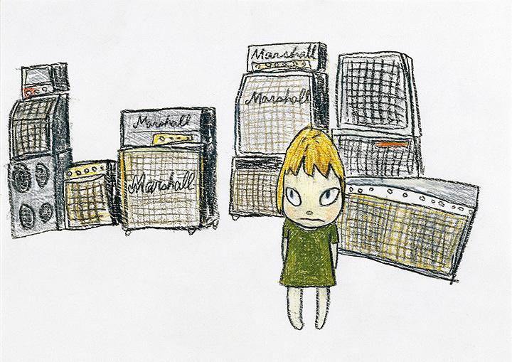 奈良美智『Marshall』2003年 個人蔵 ©Yoshitomo Nara 2003