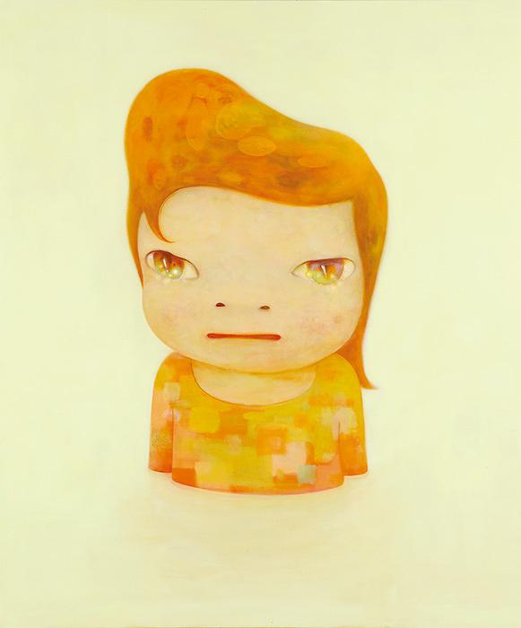 奈良美智『Blankey』2012年 個人蔵 ©Yoshitomo Nara 2012
