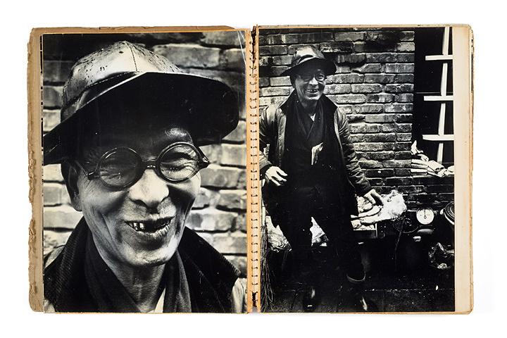 荒木経惟『八百屋のおじさん』1964